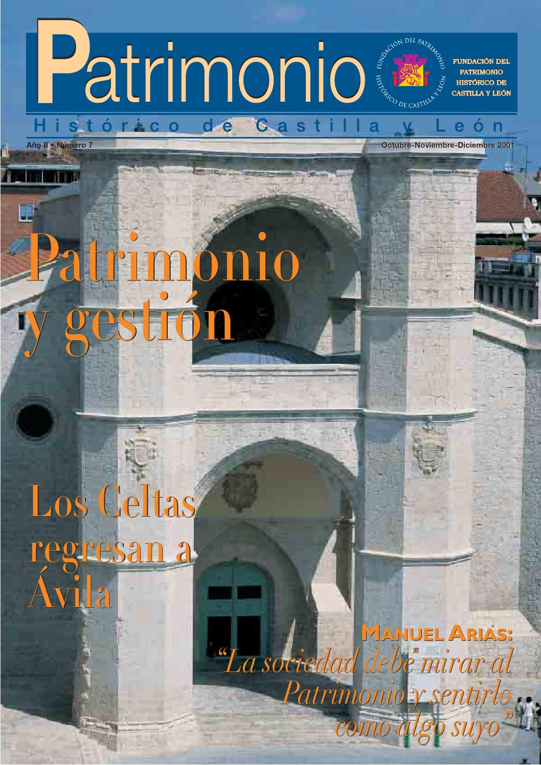 Revistapatrimonio7 By Fundaci N Santa Mar A La Real Del Patrimonio  # Muebles William Piedrahita