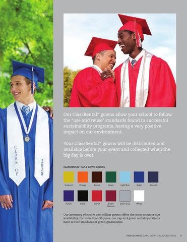 Herff Jones High School Caps Gowns By Herff Jones Issuu