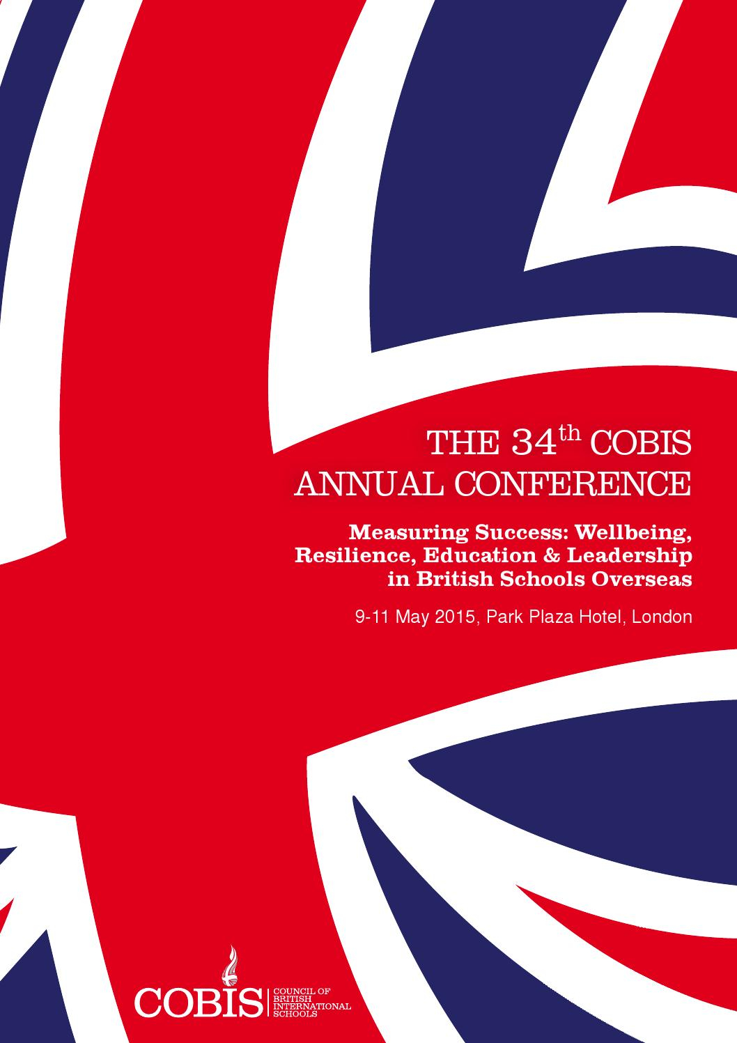Cobis annual conference programme 2015 by cobis issuu fandeluxe Images