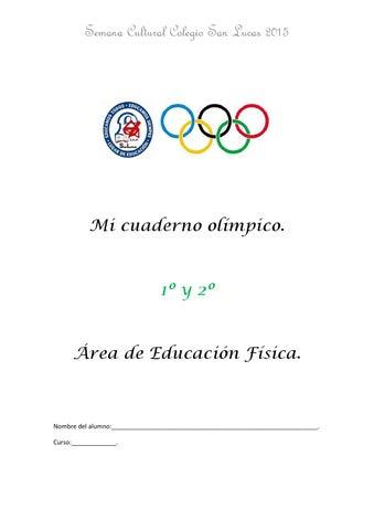 Mi cuaderno olímpico 1º y 2º by Silvia C - issuu