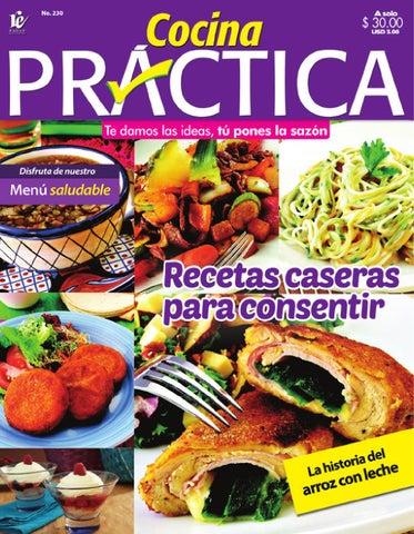 Cocina pr ctica no 230 by evoluci n laboratorio creativo for Cocina practica