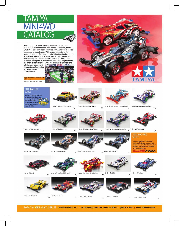 Tamiya 2015 Mini4wd Catalog By Tamiya America Inc Issuu