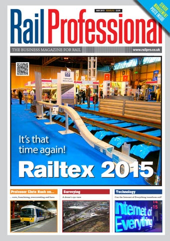 RAIL PROFESSIONAL MAY 2015 ISSUE by Rail Professional Magazine - issuu 1ed97d520d254