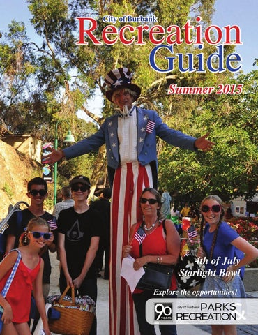Recreation Guide Summer 2015 By Burbank Parks And Recreation Issuu