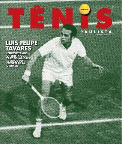 e10031feaed Revista Tênis Paulista - Edição 142 (Abril 2015) by Revista Tênis ...