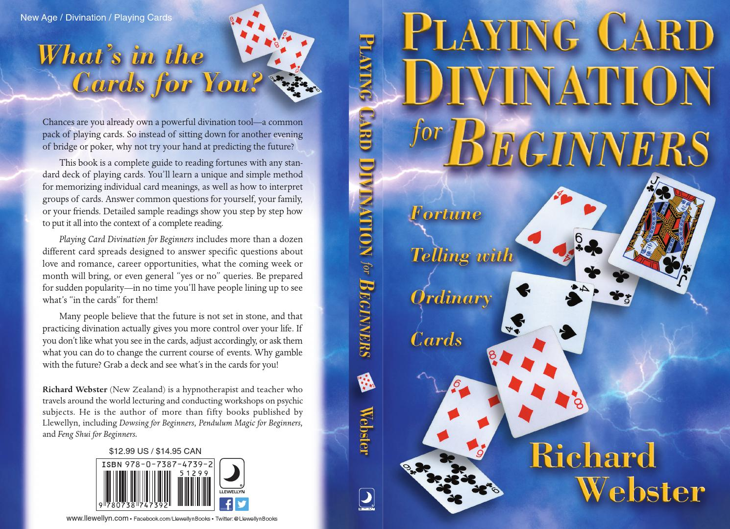 Playing Card Divination for Beginners, by Richard Webster by