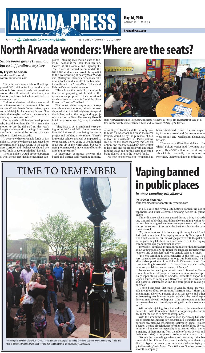 Arvada Press 0514 by Colorado Community Media - issuu