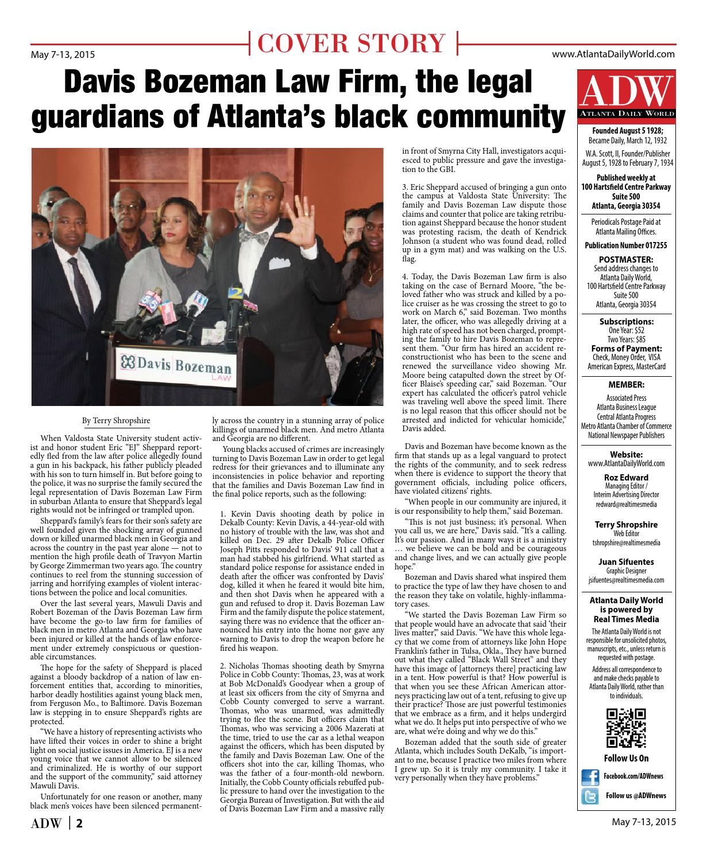 Adw May 7 By Atlanta Daily World Issuu