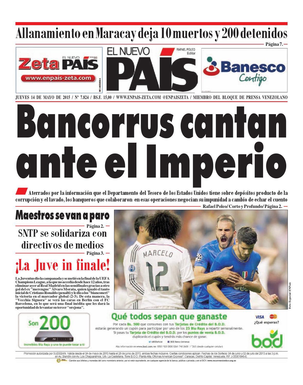 140515 by El Nuevo País y Zeta - issuu