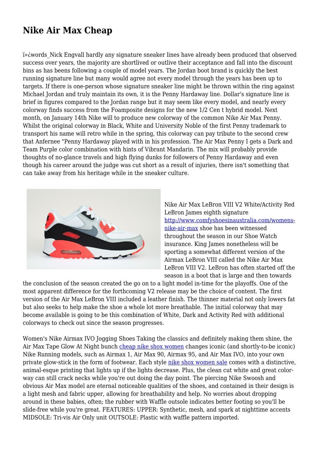 Nike Shox Cheap by snobbishbeast4367 issuu