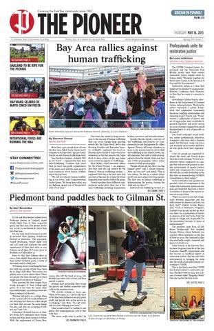 The Pioneer Newspaper May 14, 2015 by The Pioneer Newspaper - issuu