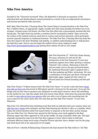 Nike Free America by momentouscybers39 - issuu