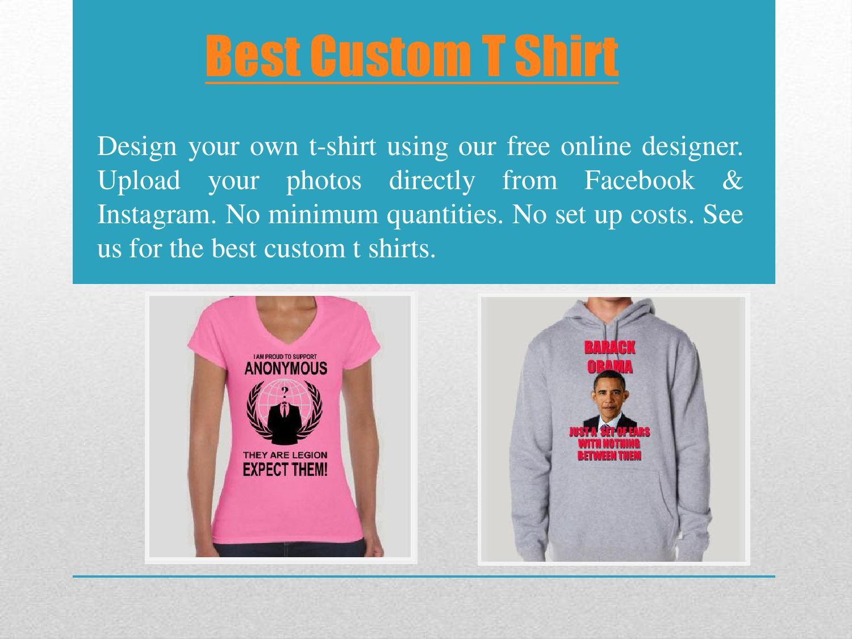 Custom T Shirt Designs No Minimum Labzada T Shirt