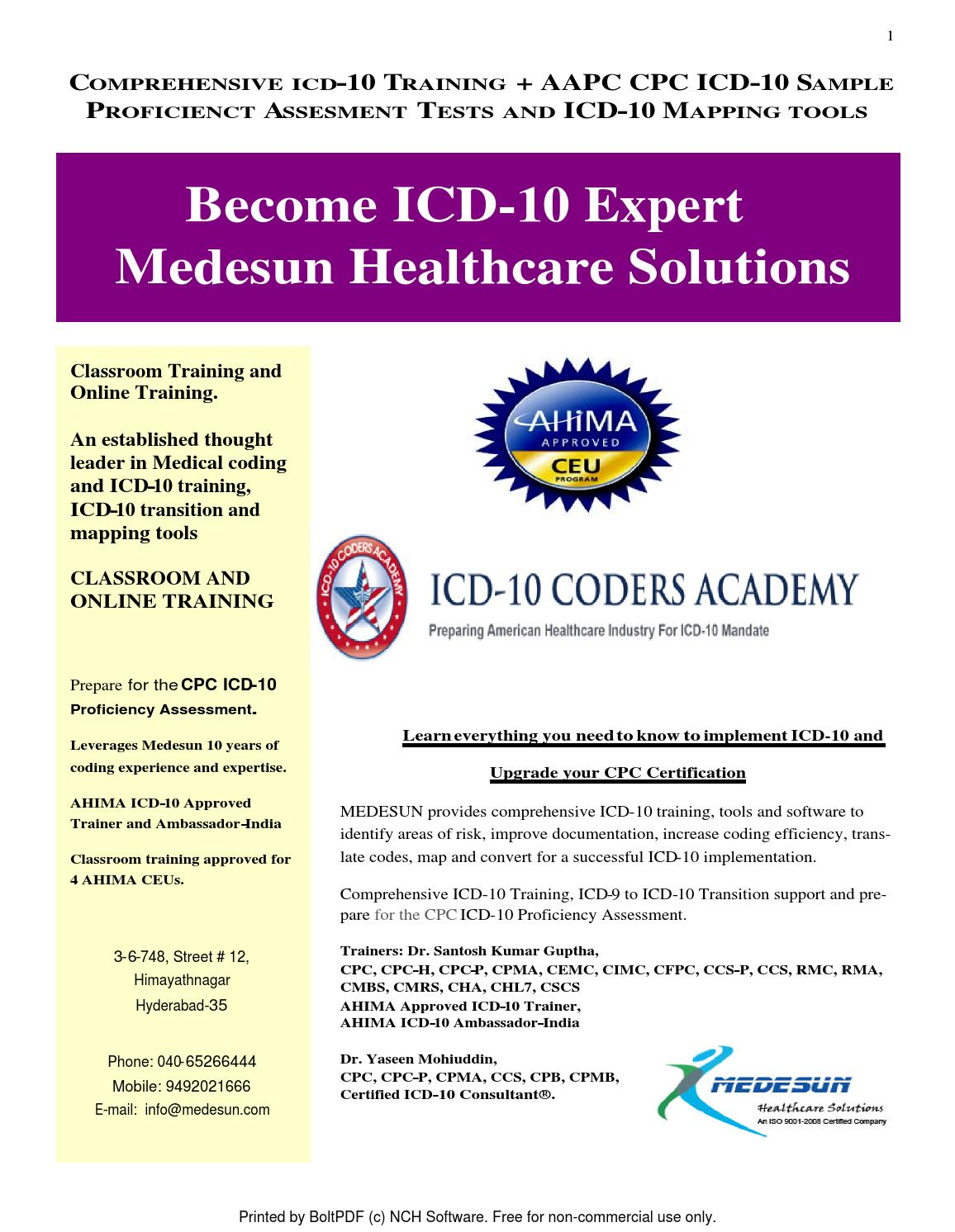 Icd 10 training hyderabad and india by medesun medical coding icd 10 training hyderabad and india by medesun medical coding training center issuu xflitez Choice Image