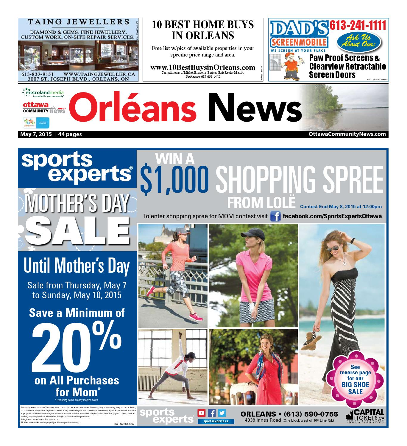 Orleans05072015 by Metroland East - Orleans News - issuu