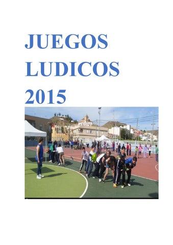 Juegos Ludicos 2015 By Juegos Dudicos Issuu