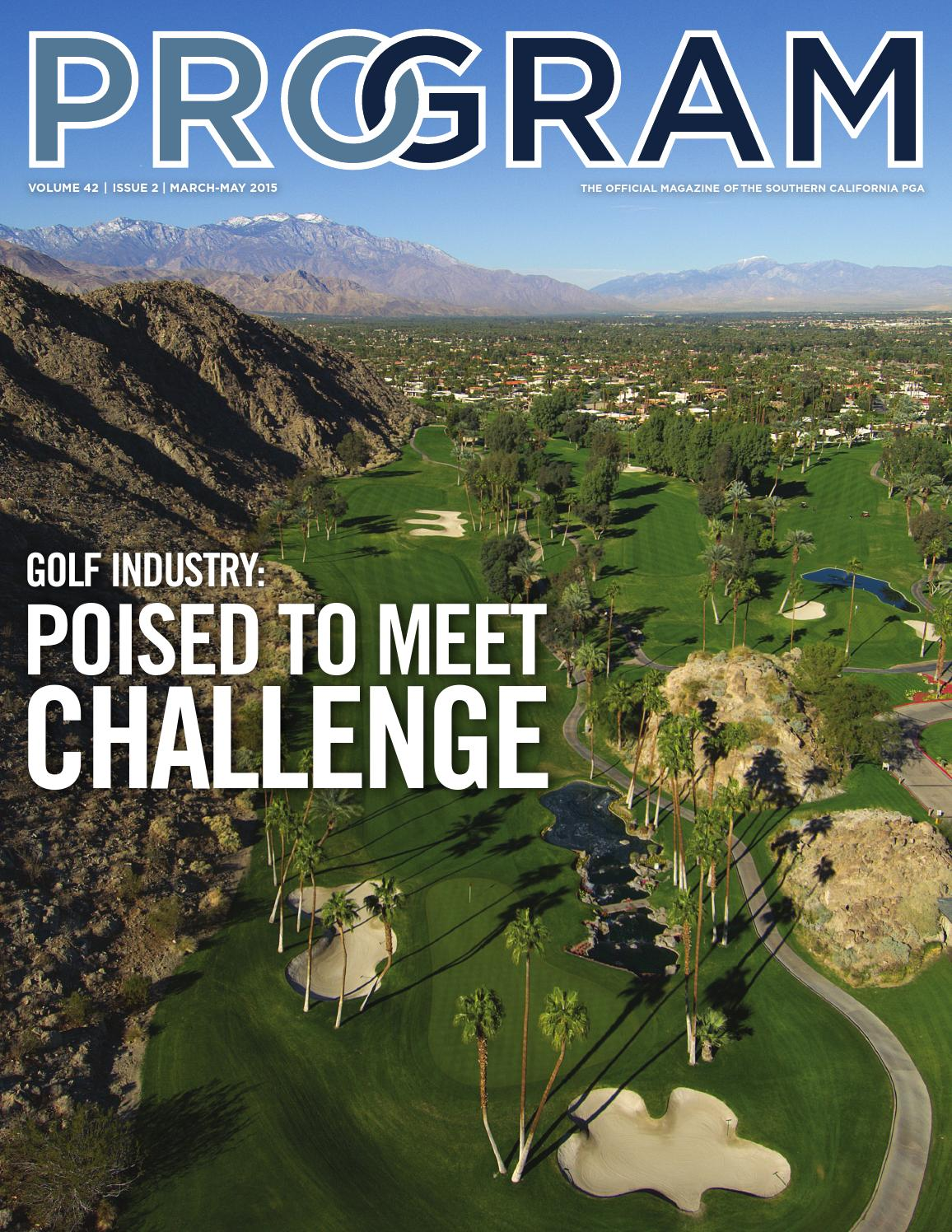 Southern California PGA PROgram Magazine - 2015 March-May
