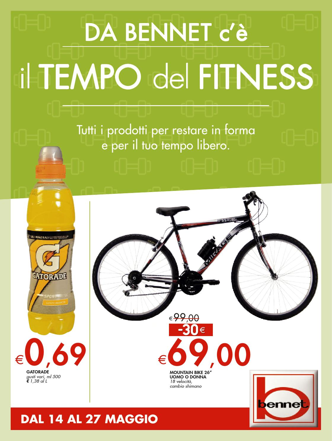 huge selection of 758eb 6715e Bennet volantino 14 27maggio2015 by CatalogoPromozioni.com ...