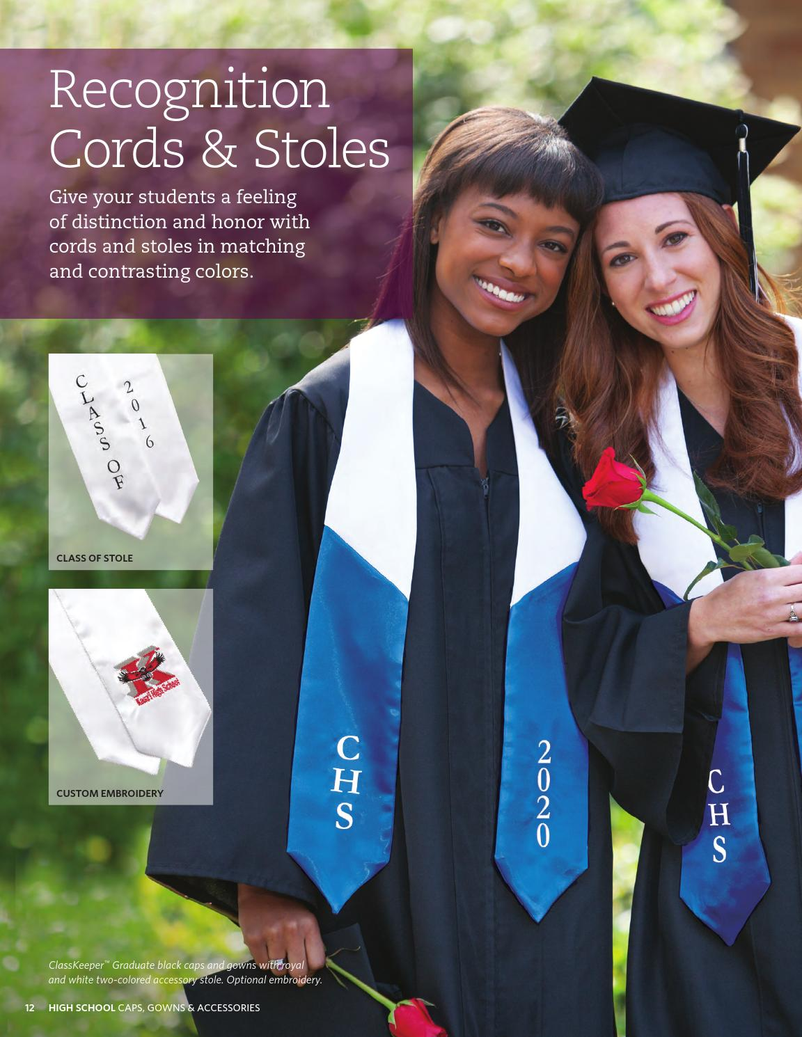 Colorful Herff Jones Cap And Gown Composition - Images for wedding ...