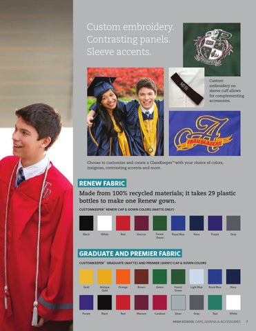 Herff Jones High School Caps & Gowns 2016 by Herff Jones - issuu