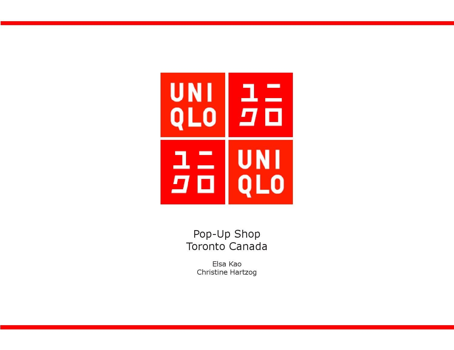 marketing plan unqilo Japanese clothing chain uniqlo has leveraged its japan's uniqlo fashions a plan to beat retail rivals and a fleece campaign for uniqlo, at us marketing.