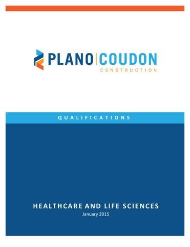 Plano-Coudon Construction Healthcare + Life Sciences ...