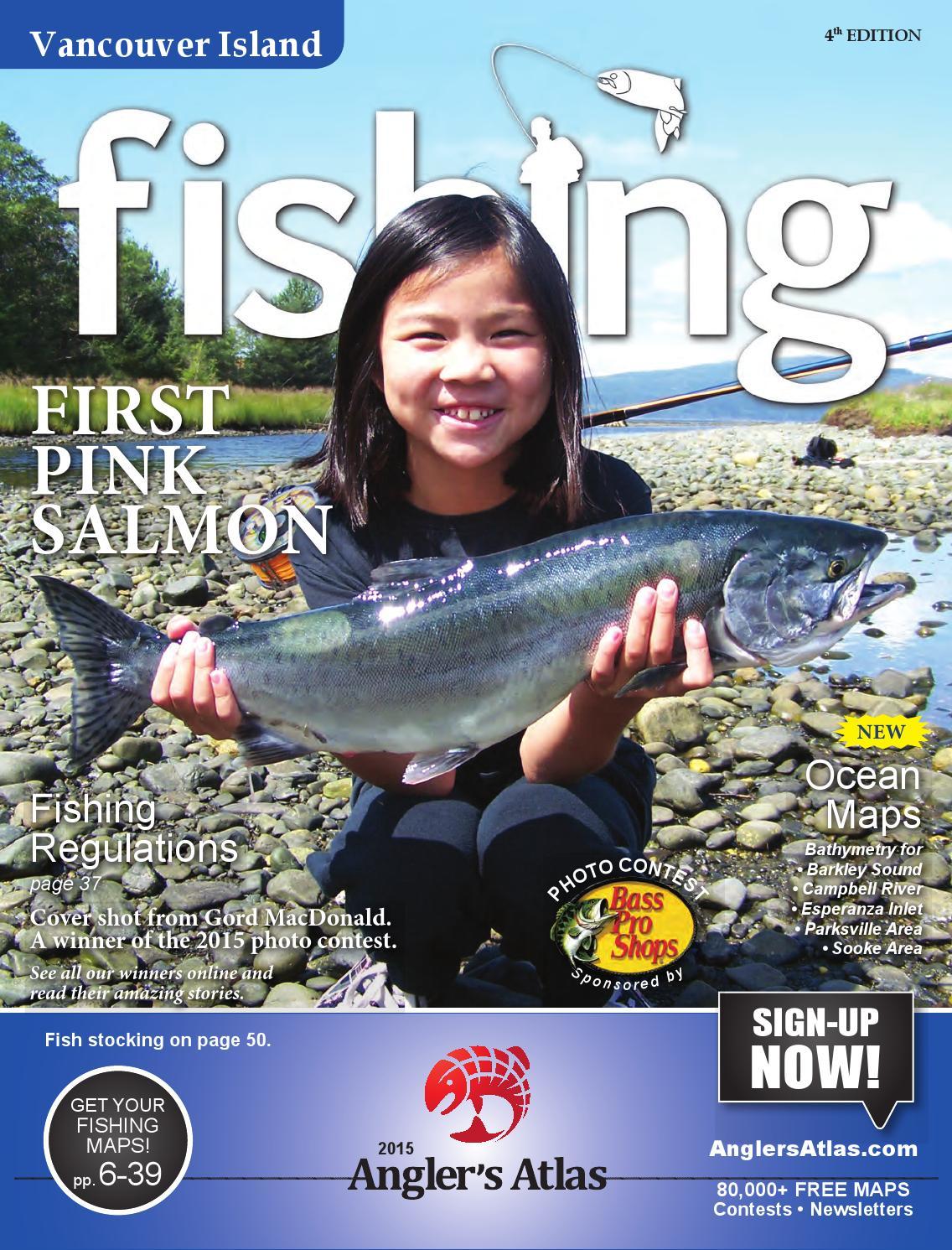 Bc vancouver island fishing 2015 by angler 39 s atlas issuu for Vancouver island fishing