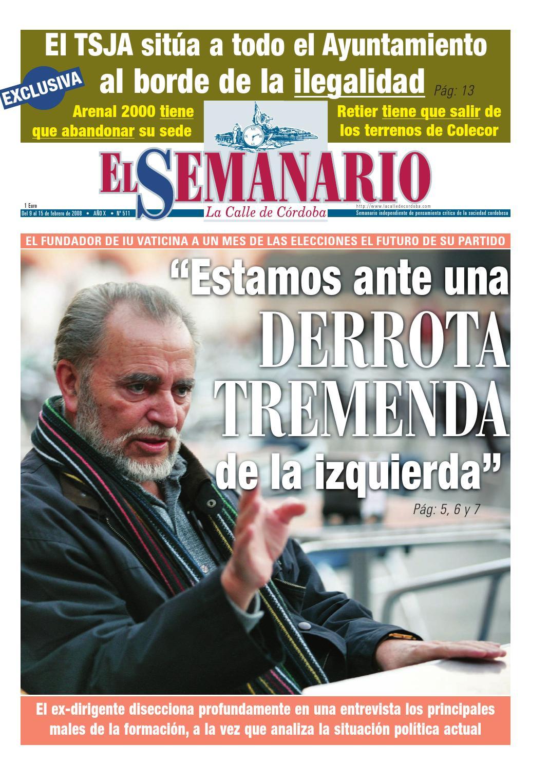 El Semanario La Calle de Córdoba - Nº 511 by El Semanario La Calle de  Córdoba - issuu ceaea27c94f