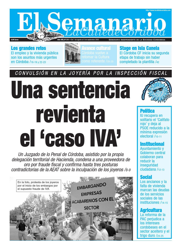 El Semanario La Calle de Córdoba - Nº 311 by El Semanario La Calle ...