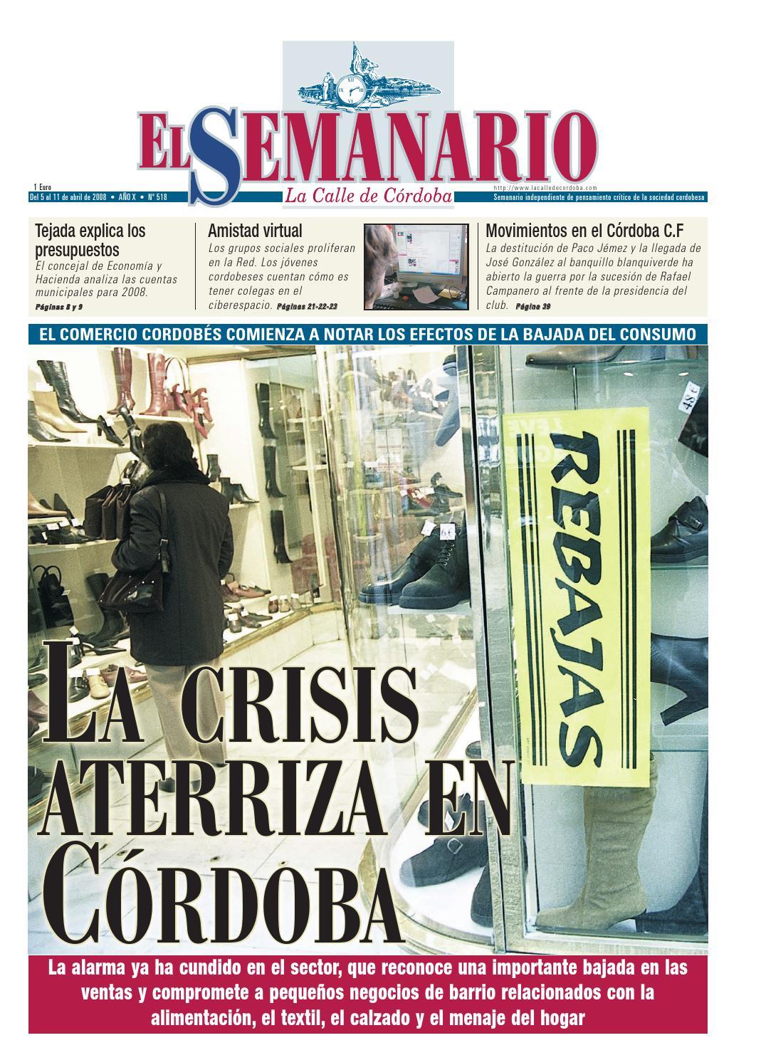 El Semanario La Calle de Córdoba - Nº 518 by El Semanario La Calle de  Córdoba - issuu