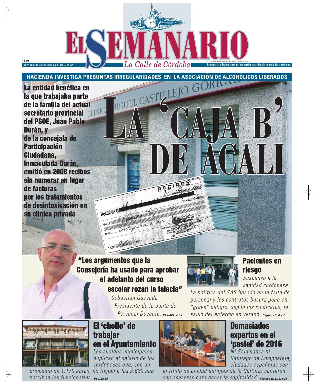 El Semanario La Calle de Córdoba - Nº 579 by El Semanario La Calle ...