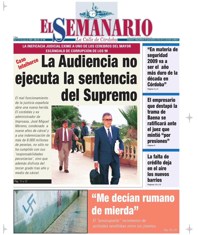 El Semanario La Calle de Córdoba - Nº 560 by El Semanario La Calle ...