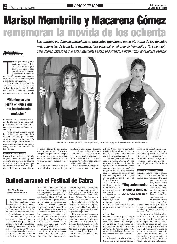 Actrices Que Mas Han Durado En El Porno el semanario la calle de córdoba - nº 357el semanario la