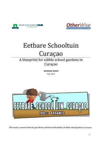 Eetbare schooltuin curaao blueprint by lorenzo locci issuu page 1 malvernweather Gallery