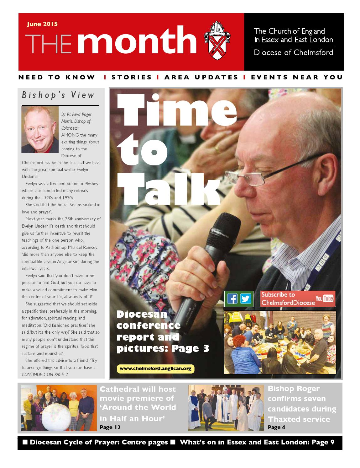 045eb69156dc The Month - June 2015 by Diocese of Chelmsford - issuu