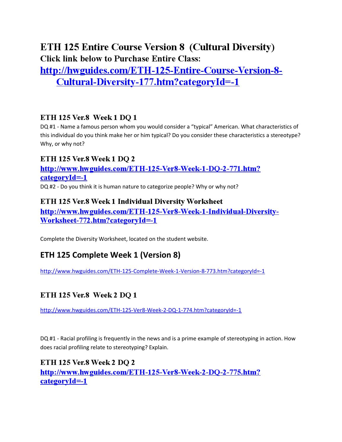 HLT 314V Week 3 Complete Assignment and DQs