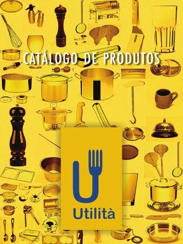 Catalogo de Produtos Utilità by Utilità cozinha - issuu 84e3f449da0b7