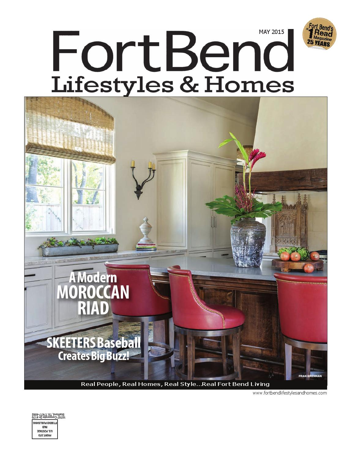aa995ecbda318 Fort Bend Lifestyles   Homes May 2015 by Lifestyles   Homes Magazines Fort  Bend Publishing - issuu