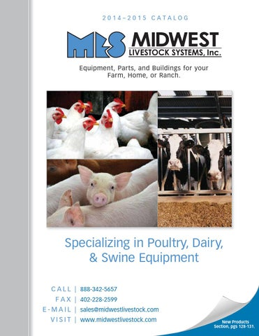 Midwest Livestock Systems 2014-2015 Catalog by Midwest ... on