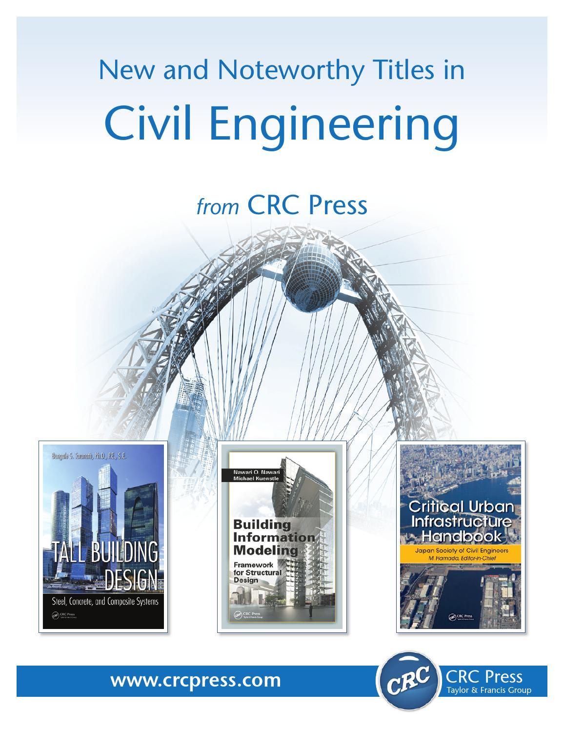 Civil Engineering By Crc Press Issuu