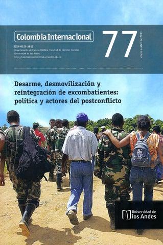 Colombia Internacional No. 77 by Publicaciones Faciso - issuu 6fa4076e377