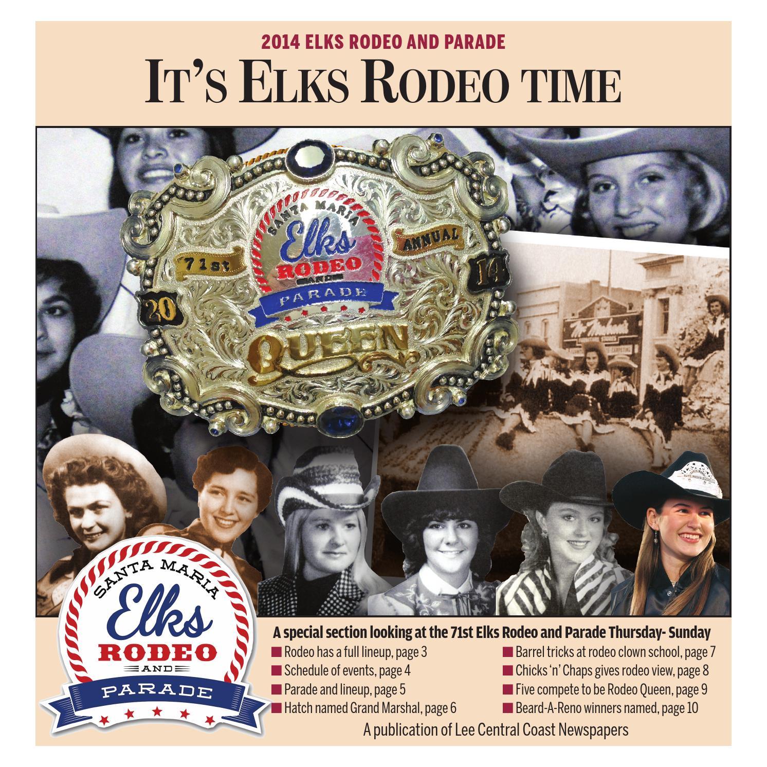 Santa Maria Elks Rodeo 2014 By Lee Central Coast