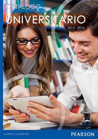Catlogo universitario 2015 2016 by pearson mxico issuu page 1 fandeluxe Gallery