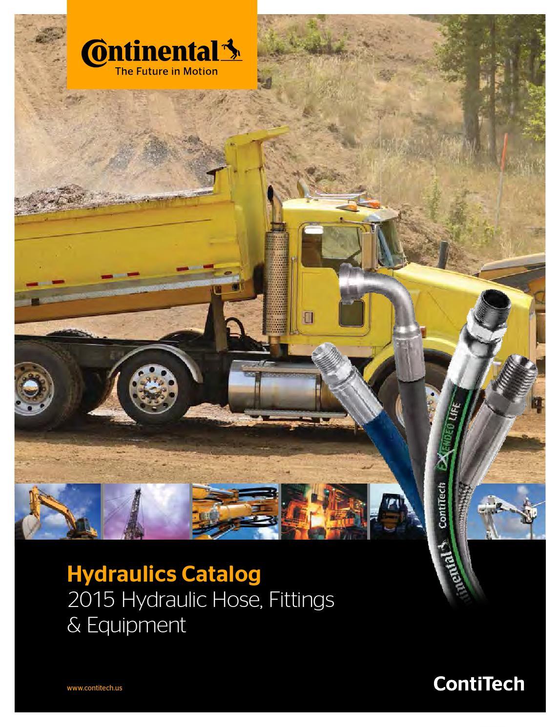 Continental-Hydraulics Catalog 2015 Hydraulic Hose, Fittings