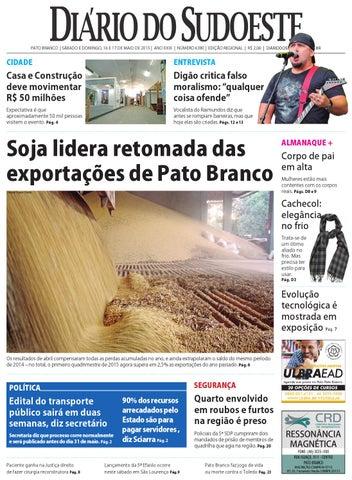 c4b8b5aad7f Diário do sudoeste 16 e 17 de maio de 2015 ed 6380 by Diário do ...