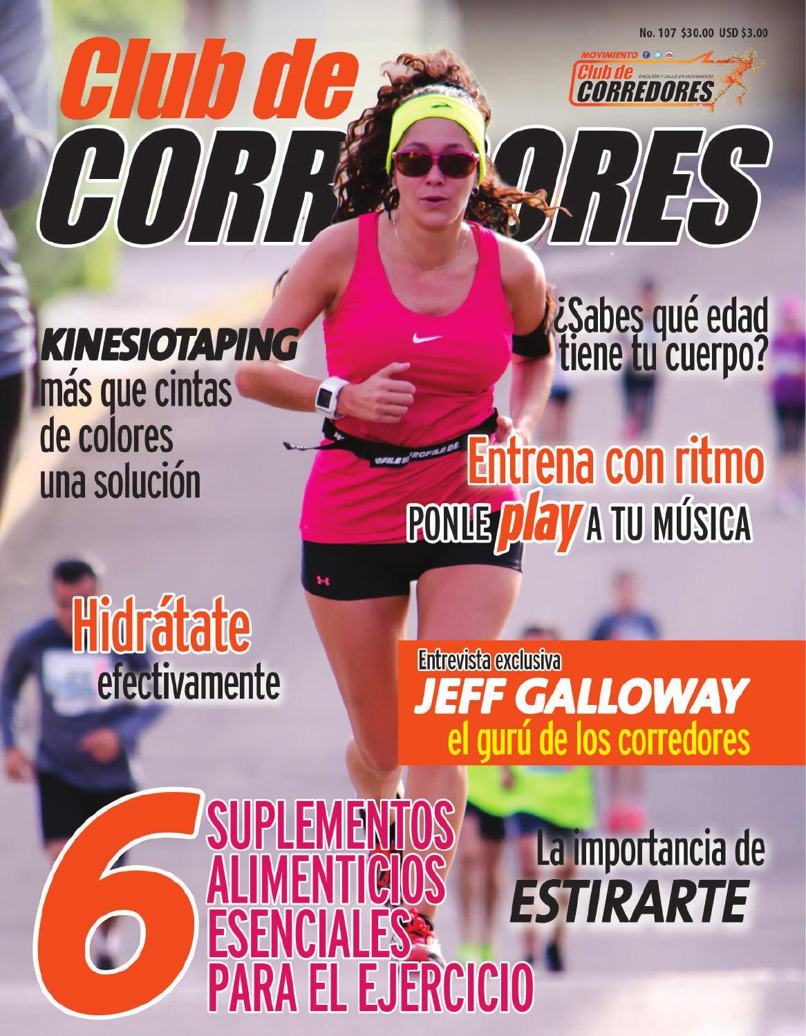 Club de Corredores No.107 by Evolución Laboratorio Creativo - issuu