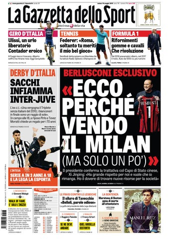 La Gazzetta dello Sport (05-16-2015) by Nguyen Duc Thinh - issuu 4780e6d6772d
