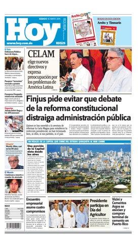 Periódico sábado 16 de mayo by Periodico Hoy - issuu