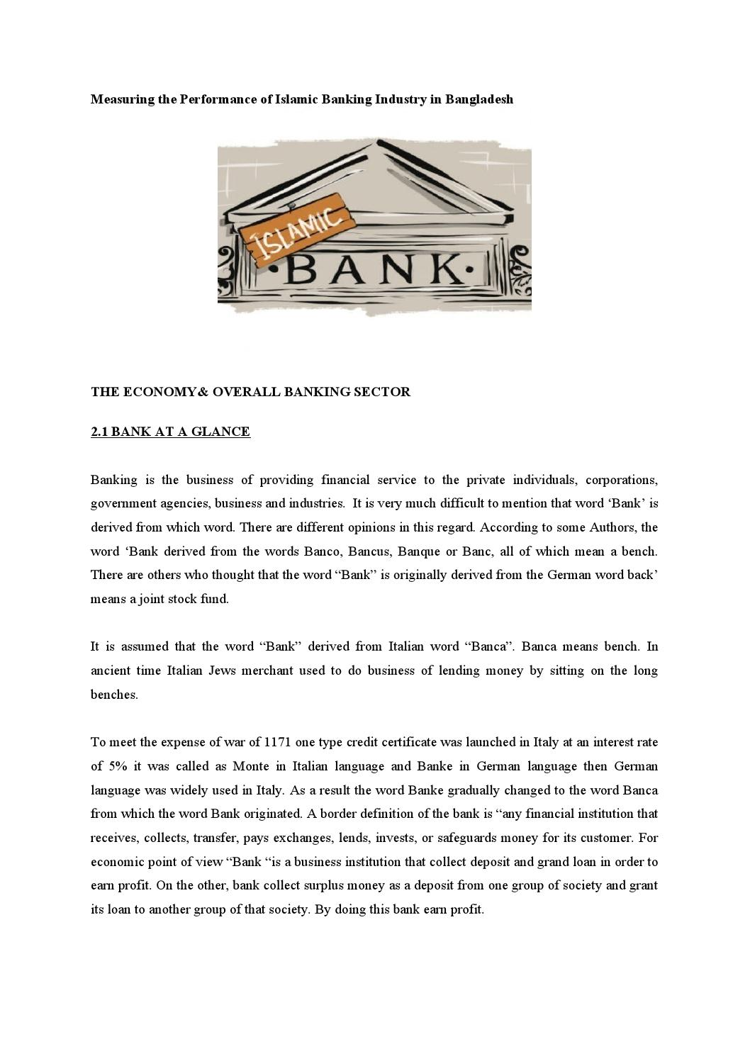Measuring the performance of islamic banking industry in measuring the performance of islamic banking industry in bangladesh by md papon issuu 1betcityfo Choice Image