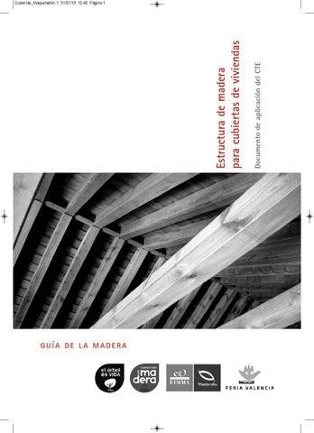 Estructuras De Madera Para Cubiertas By Daniel Merino Issuu